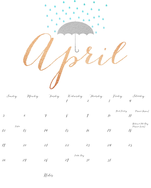 download april