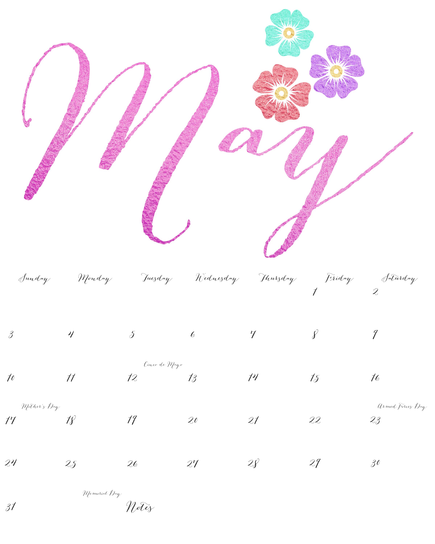 Calendar for the month of may dcbuscharter free printable 2015 calendar saigontimesfo