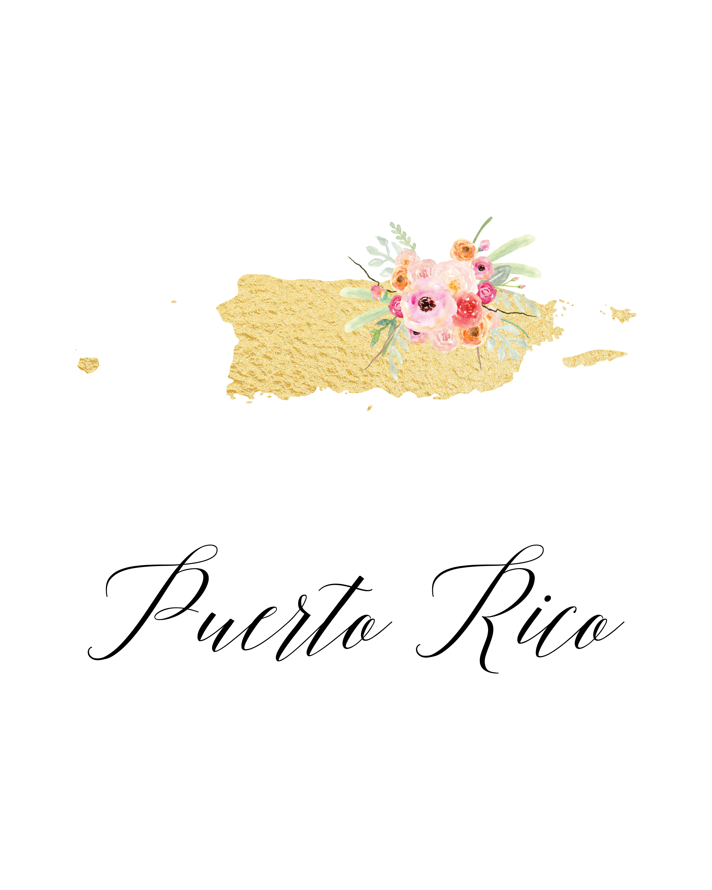 printable puerto rico flag