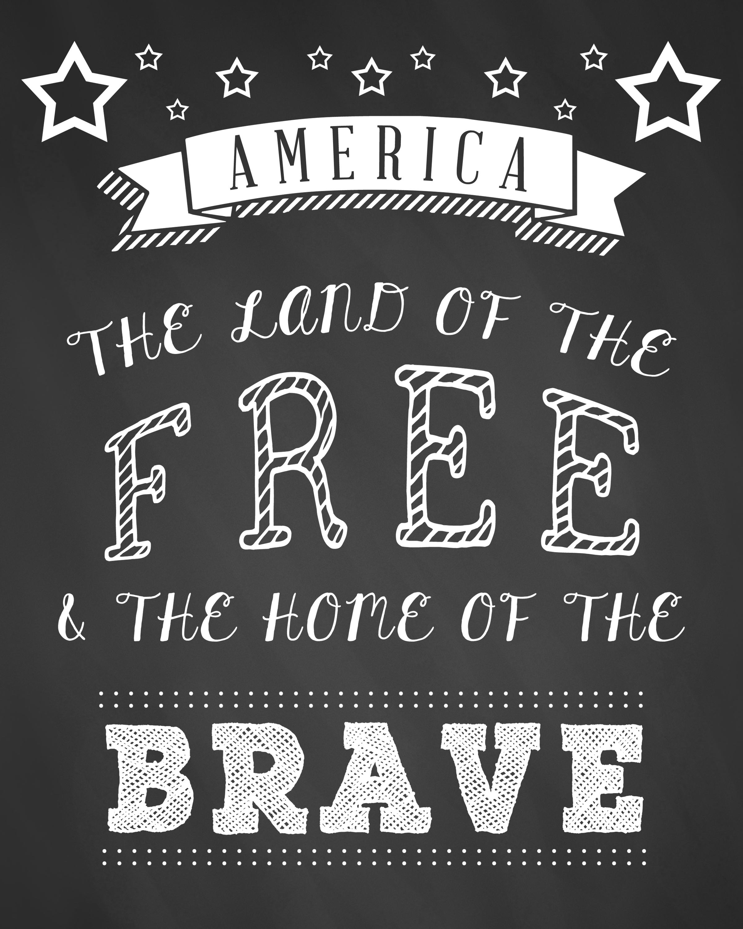 printable free fourth of july