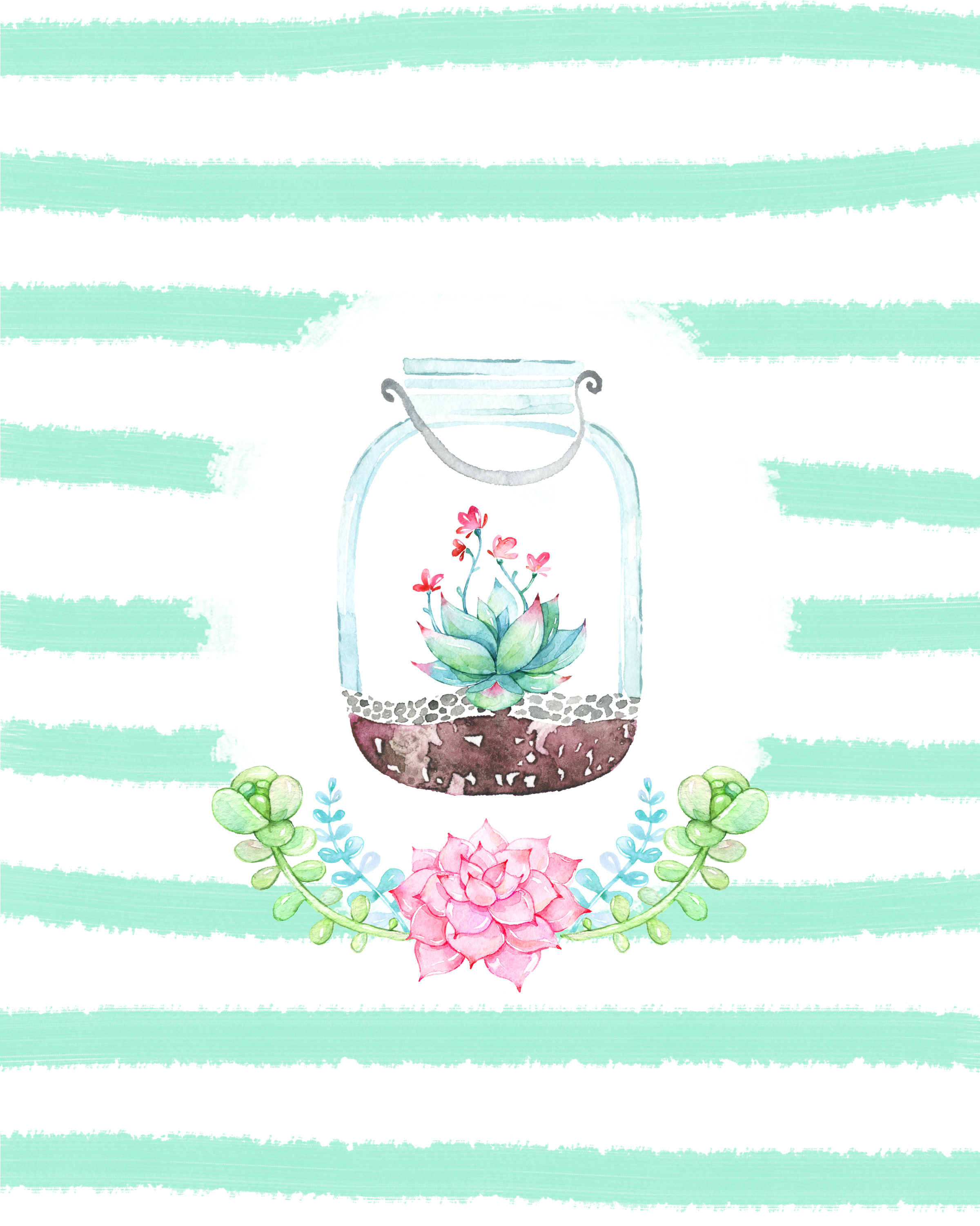 It's just a photo of Peaceful Mason Jar Printables