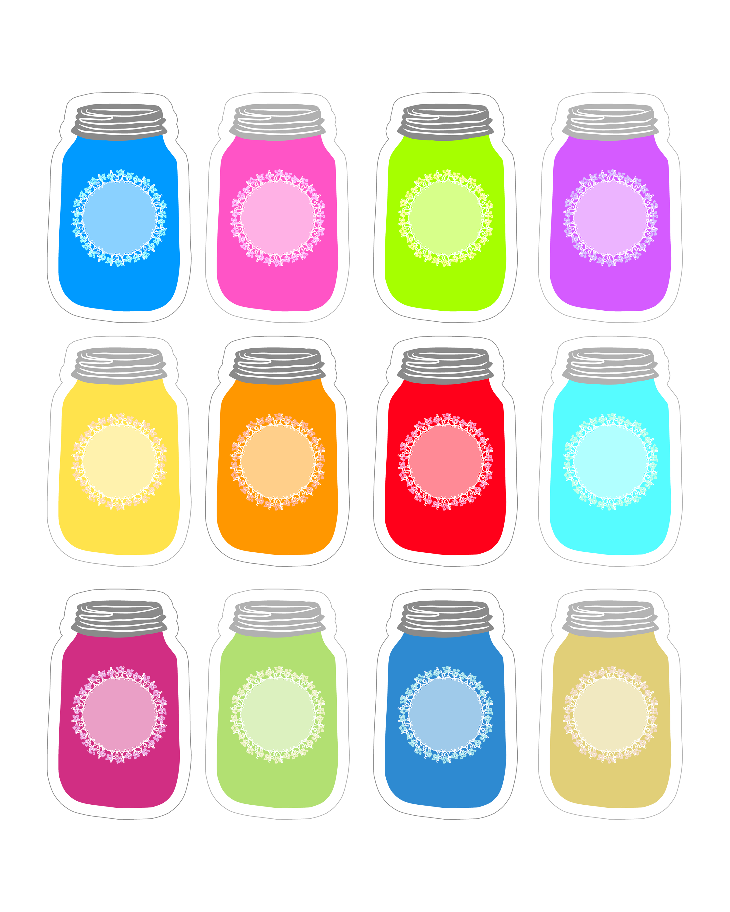 Old Fashioned image throughout free printable mason jars