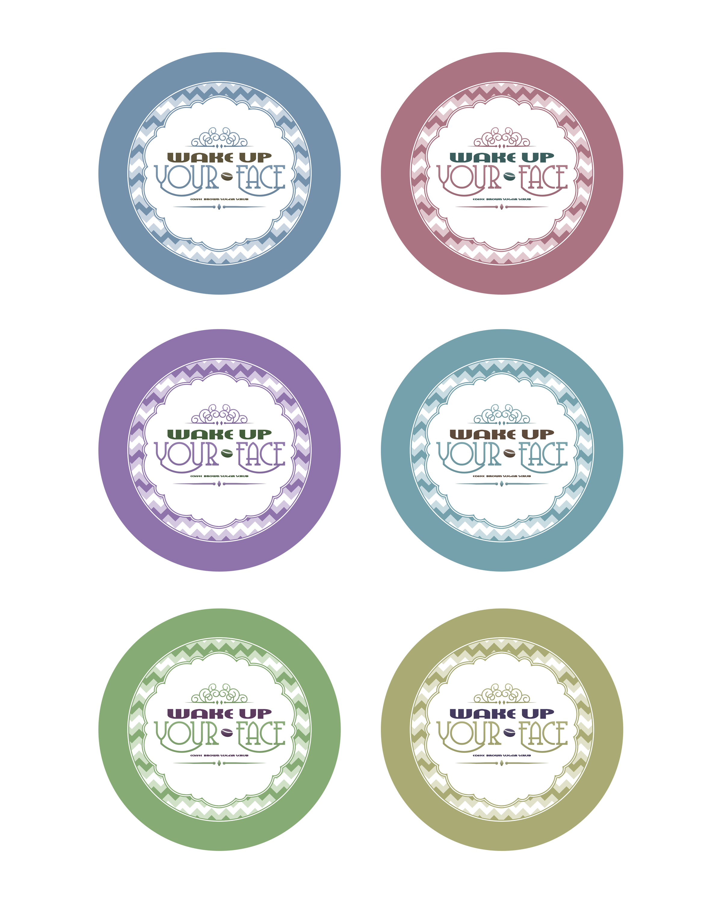 It's just an image of Irresistible Printable Sugar Scrub Labels
