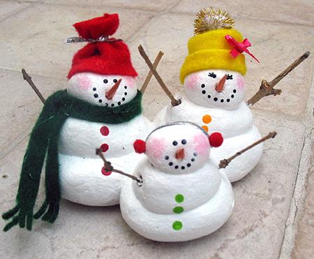 Сенсационные Снеговиков 1