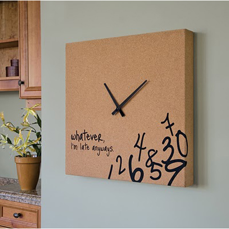 Unique Upcycled Clock DIY Project 13