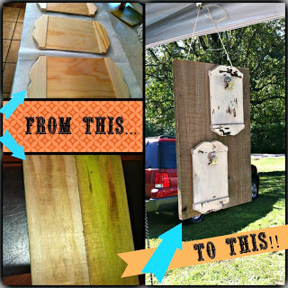 DIY Repurposed Wood Frame