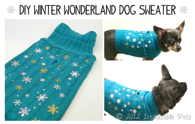 DIY-Winter-Wonderland-Dog-Sweater-from-IrresistiblePets.net_thumb