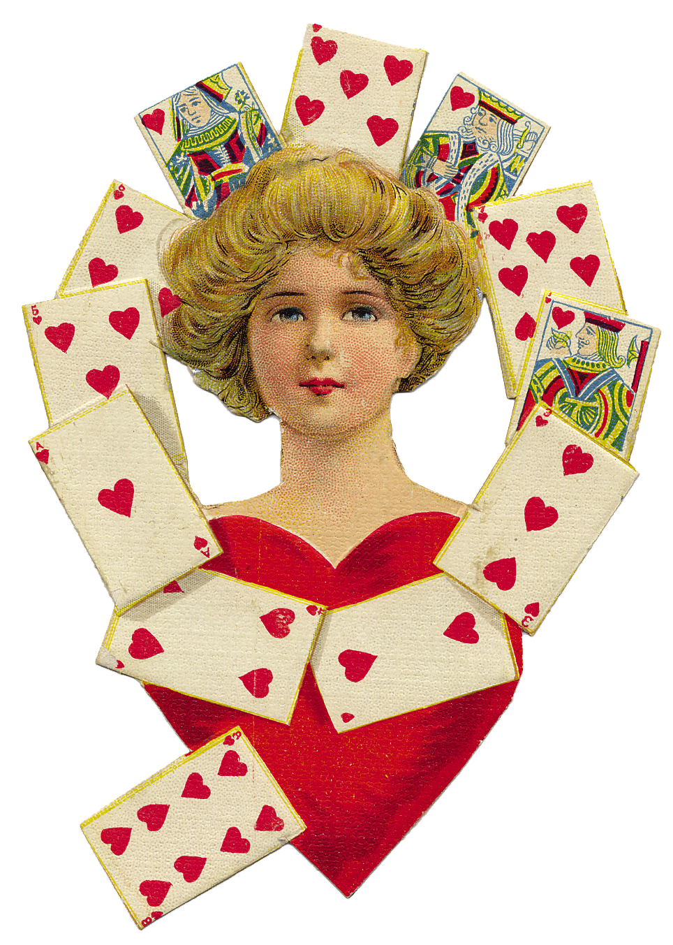 Graphics Of The Day Vintage Queen Of Hearts The