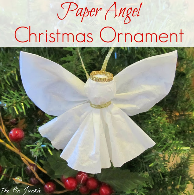 paper angel ornament