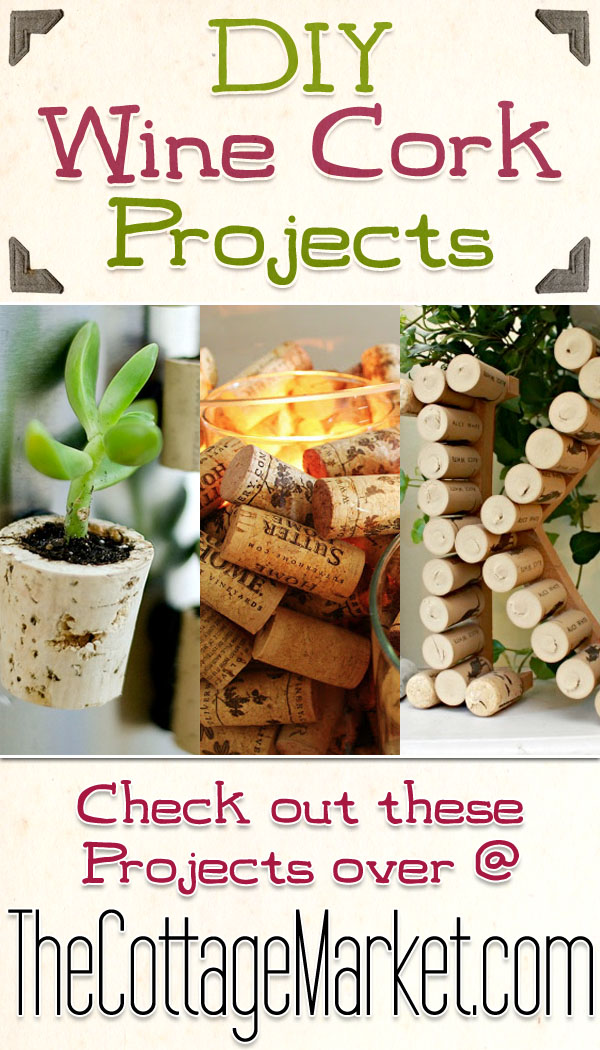 Diy wine cork projects the cottage market for Wine cork crafts diy