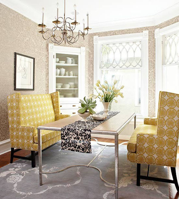 Decorating with POPS of Yellow {A 2014 Home Decor Trend} - The